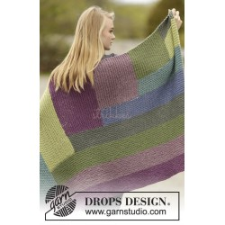Colorblock by DROPS Design Ca 88 x 130 cm DROPS ANDES