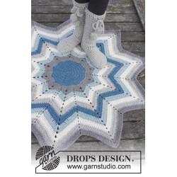Pole Star by DROPS Design ca 112 cm i diameter (fra spids til spids) DROPS ESKIMO