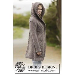 Image of   Into the woods by drops design s-xxxl drops eskimo garn cardigan
