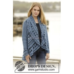 Sea Glass by DROPS Design S-XXXL DROPS MERINO EXTRA FINE