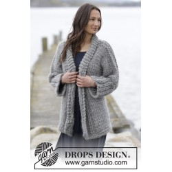 Image of   Hold me close by drops design s-xxxl drops polaris garn cardigan