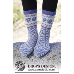 Winter Heirloom by DROPS Design 35-43 DROPS FABEL