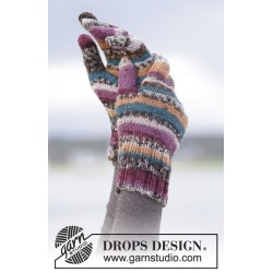 Autumn Stripes by DROPS Design S-XL DROPS FABEL