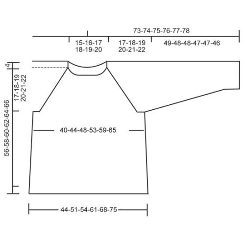 Arctic Ocean Sweater by DROPS Design S-XXXL DROPS FABEL