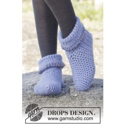 En Pointe by DROPS Design 35-42 DROPS ESKIMO