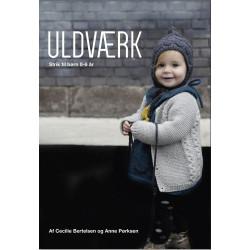 Uldværk - strik til børn 0-6 år - Cecilie Bertelsen og Anne Pørksen bog