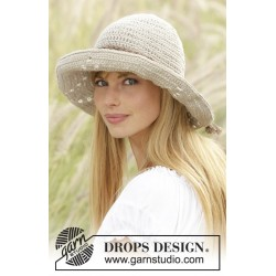 Image of   My girl by drops design one-size drops bomull-lin garn tørklæder,