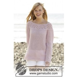 Pink connection by drops design s-xxxl drops brushed alpaca silk