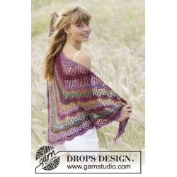Image of   Summer fling by drops design one-size drops delight garn sjal