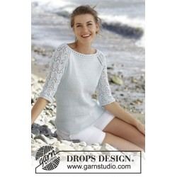 Sea Nymph by DROPS Design S-XXXL DROPS MUSKAT
