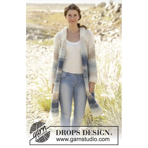 Ocean Roar by DROPS Design S-XXXL DROPS MELODY