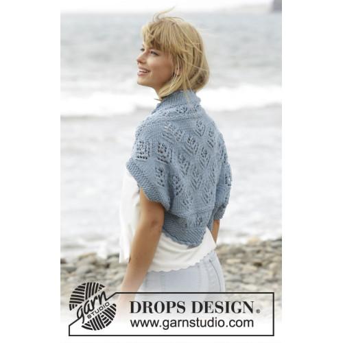 Beach Bolero by DROPS Design S-XXXL DROPS BIG MERINO
