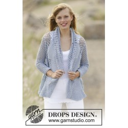 Image of   Endless love by drops design s-xxxl drops cotton merino garn cardigan