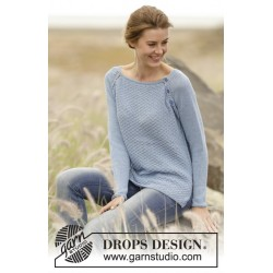 Morning at home by drops design s-xxxl drops belle garn bluse