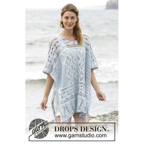 Graceful Mermaid by DROPS Design S-XXXL DROPS COTTON MERINO