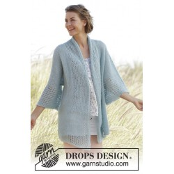 Image of   Saltwater by drops design s-xxxl drops brushed alpaca silk garn