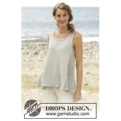 Venezia Top by DROPS Design S-XXXL DROPS BELLE
