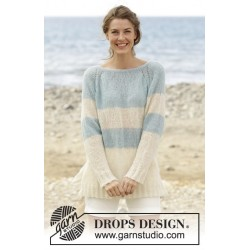 Weekend Getaway by DROPS Design S-XXXL DROPS BRUSHED ALPACA SILK