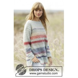 No Worries by DROPS Design XS-XXXL DROPS BRUSHED ALPACA SILK