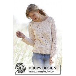 Vintage Charmer by DROPS Design XS-XXXL DROPS BABY MERINO