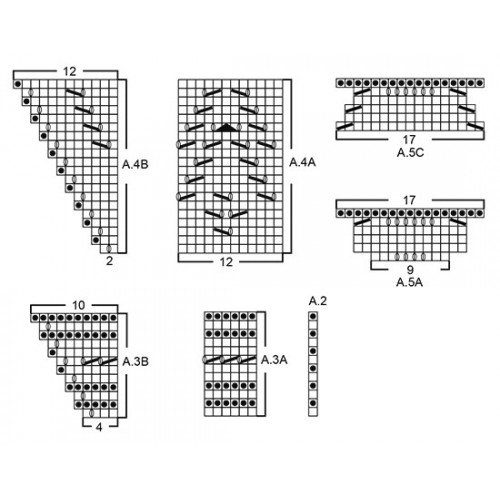 Tender Kiss by DROPS Design Højde: ca 60 cm. Bredde øverst: ca 200 cm. DROPS ALPACA