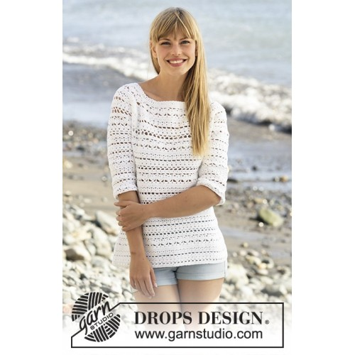 Seashore Bliss by DROPS Design S-XXXL DROPS MUSKAT