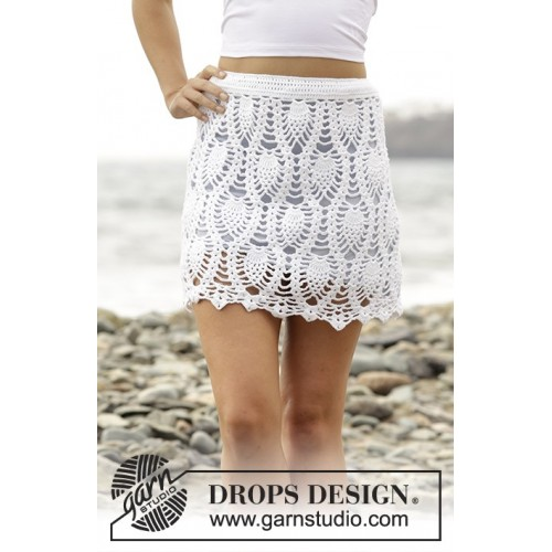 Piña Colada by DROPS Design S-XXXL DROPS SAFRAN