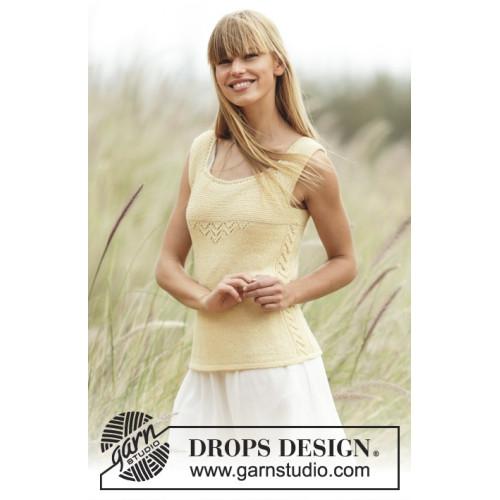 Fresh Lemonade by DROPS Design XS-XXL DROPS BABYALPACA SILK