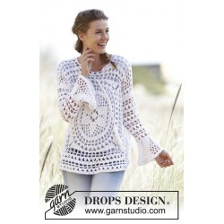 Image of   Janis by drops design s-xxxl drops paris garn bluse