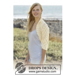 Lemon Cross by DROPS Design S-XXXL DROPS MUSKAT