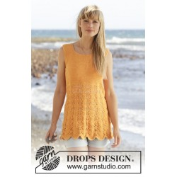 Sunkissed by DROPS Design S-XXXL DROPS SAFRAN