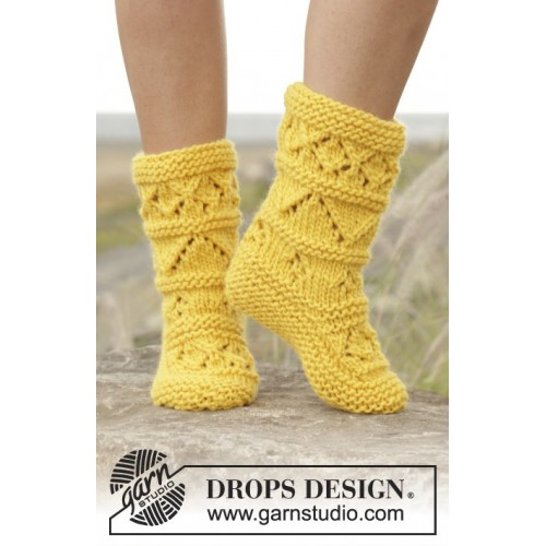 Lemon Twist by DROPS Design 35-42 DROPS ESKIMO