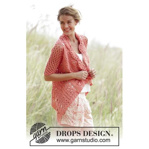 Peach Dream by DROPS Design S-XXXL DROPS PARIS