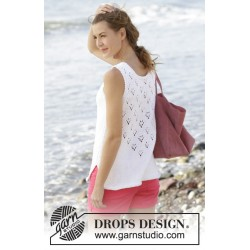 Sunny day top by drops design s-xxxl drops paris garn strikkekits