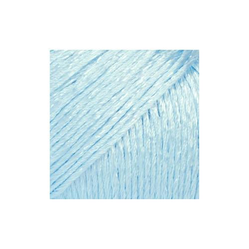 Drops Cotton Viscose UNI farve 16 isblå