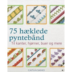 75 hæklede pyntebånd