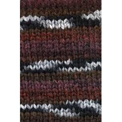 Lang Yarns Cruz, farve brun/bordeaux/sort/grå, 100g