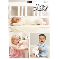 Viking katalog 1114 - baby 0-2 år, baby ull
