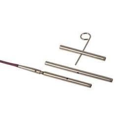 Kabel overgange og strammenøgle fra knit pro, 3 stk + nøgle