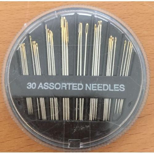 b8422ed1 Æske med 30 stk assorterede størrelse nåle