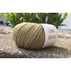 Lang Yarns Giulia, farve lys olivengrøn