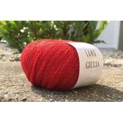 Lang Yarns Giulia, farve julerød