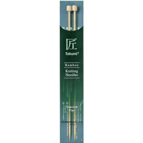 Clover Takumi jumperpinde bambus 23 cm tapered tips