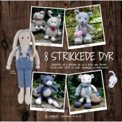 8 strikkede dyr - Go Handmade bog