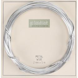 Go Handmade Metalwire 2mm x 5m