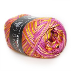Mayflower Cotton 8/4 print farve 1502 solopgang