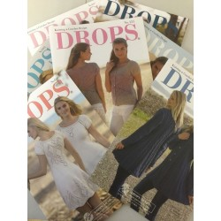 DROPS kataloger sommermodeller,12 blade, se i teksten hvilket. Spar 10%