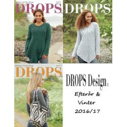 DROPS kataloger Efterår / Vinter 2016/2017. Spar 10%