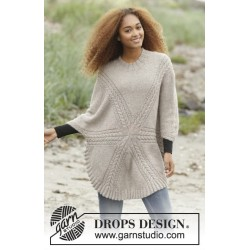 Sand Tracks by DROPS Design S-XXXL DROPS PUNA