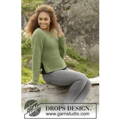 Image of   Juniper by drops design s-xxxl drops andes garn bluse